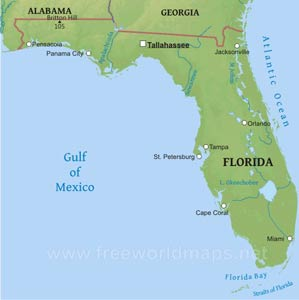 Where Is Florida Located On The Map.Where Is Florida Located On The Map
