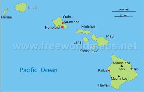 Hawaii maps