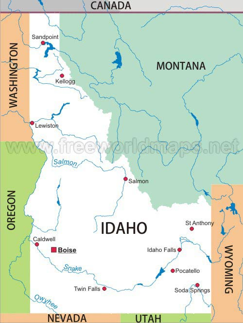 Idaho maps