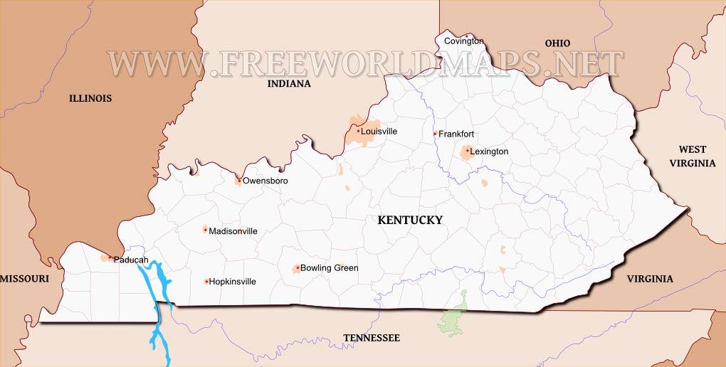 Kentucky maps