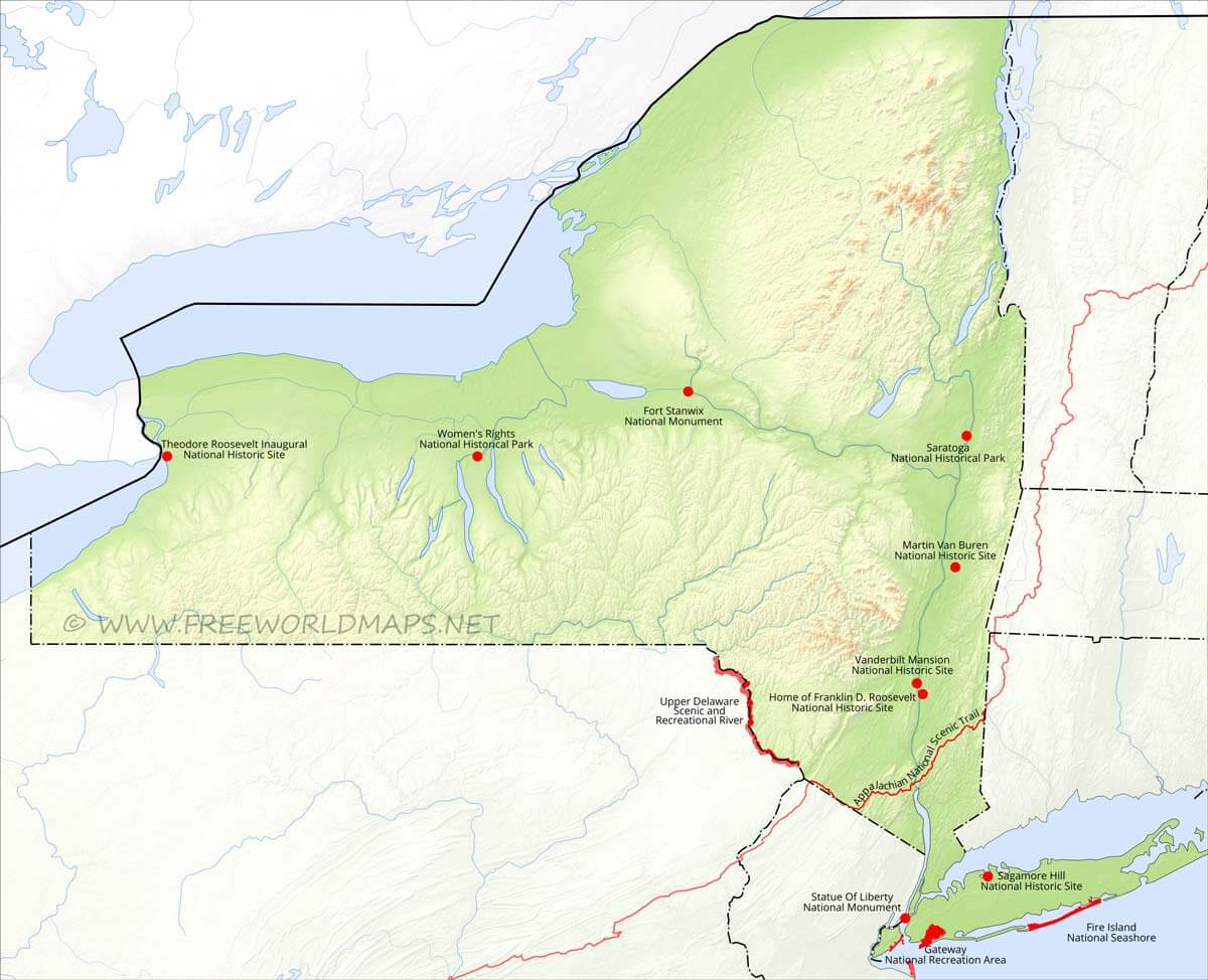 Physical map of New York on map if erie county, map if san francisco, map if philadelphia, map if massachusetts bay,
